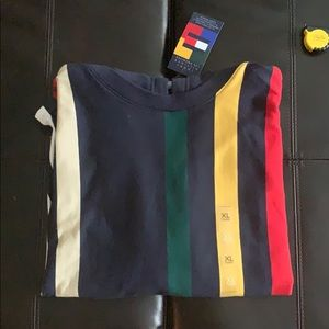 NWT Tommy Hilfiger Archived Striped Hoodie